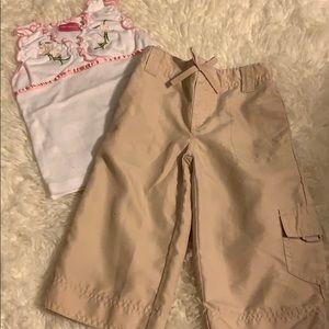 Little Lindsey matching set